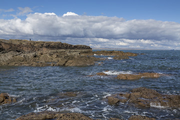Wall Mural - Aberdeenshire Coast Photo