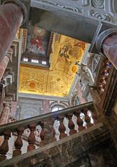 Drottningholm palace interior near Stockholm, Sweden