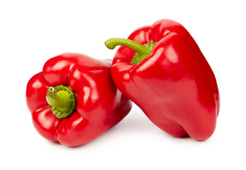 Ripe red peppers
