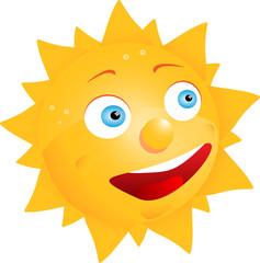 Comic Sonne Sunny