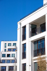 White townhouse in Berlin