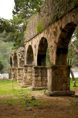 Aquädukt in Phaselis bei Kemer - Türkei
