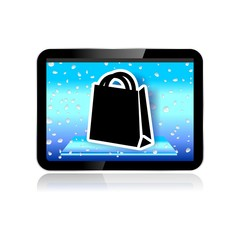 M-COMMERCE ICON shopping bag