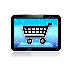 M-COMMERCE ICON shopping cart
