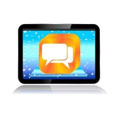 M-COMMERCE TABLET ICON communicacion