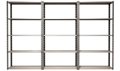 Warehouse Shelves Front