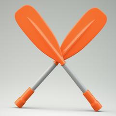 Two oars