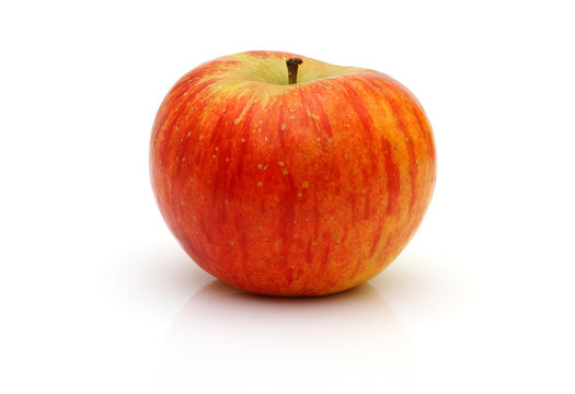 red topaz apple isolated