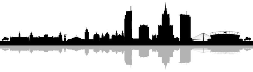 Skyline Warszawa Warschau