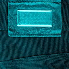 element of velvet trousers,label