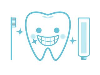強い歯イメージ