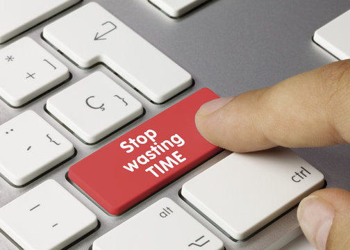 Stop wasting TIME keyboard