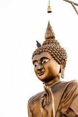 Buddha statue wat Kao Sakae Krang uthaithani Thailand