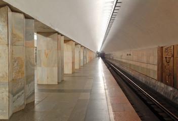 Moscow metro, station Kitay-gorod