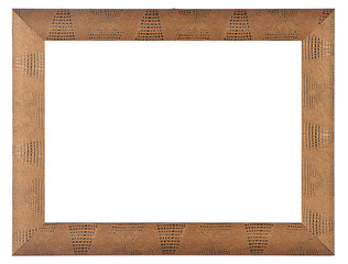 modern wooden frame