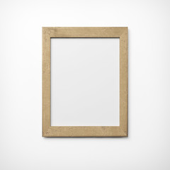 old wood picture frame