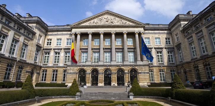 Belgian Parliament Building in Brussels