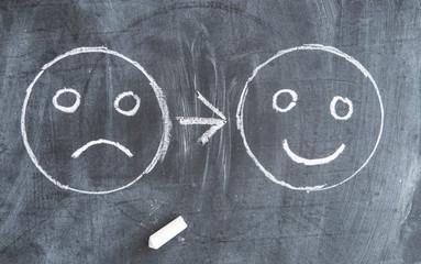 glücklich unglücklich
