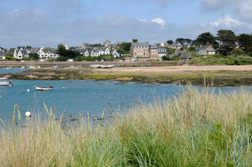 Bretagne, the picturesque port of Ploumanach