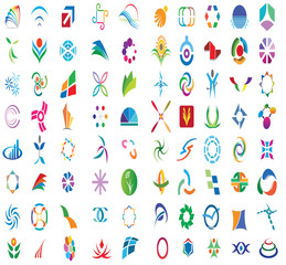 80 Logo and Design Elements Pack 2