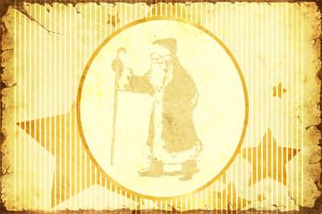 Papiers peints Affiche vintage Retroplakat - Adventszeit