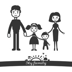 My vector family