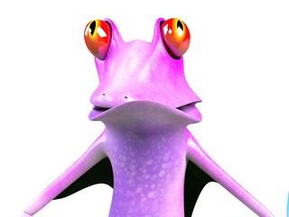 funny frog , crazy frog , super frog , hero frog