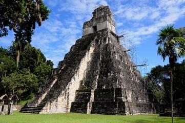 Tikal bei Flores in Guatemala