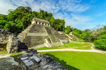 Canvas Prints Mexico Temples in Palenque