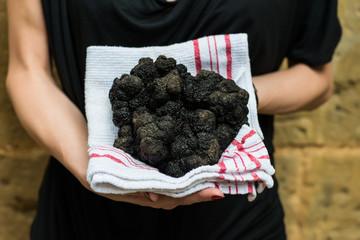 biggest black truffle dordogne perigord France