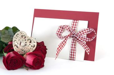 Brief und Rosen