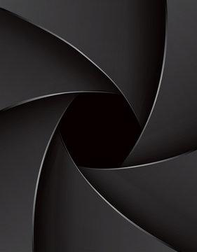 Shutter aperture illustration