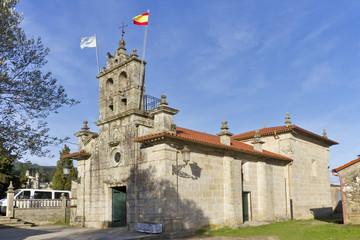 San Esteban church in Arbo