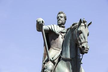 Ferdinando I de' Medici Bronze Statue in Firenze, Italy