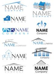 architecture construction logo