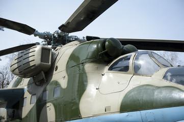 Combat helicopter, Mi-24