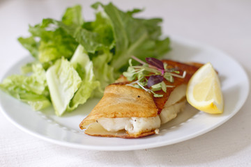 Potato Wrapped Cod