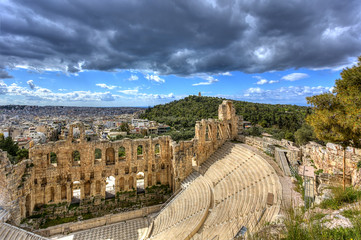 Fototapete - Odeon of Herodes Atticus ,Athens,Greece
