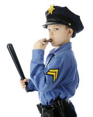 Little Whistle Blower Cop