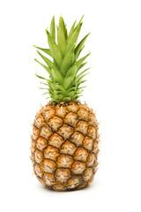 Ripe pineapple closeup