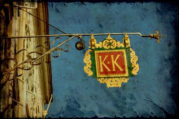 Retroplakat - König und Kaiser