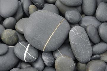 Beach Pebble stones