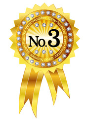 3 フレーム エンブレム メダル