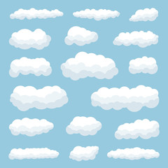Canvas Prints Heaven clouds