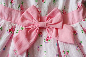 A Bow on the dress