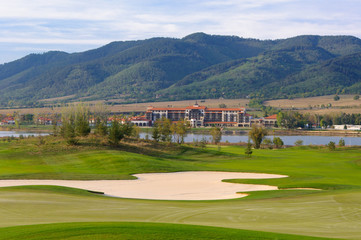 hotel and golf club