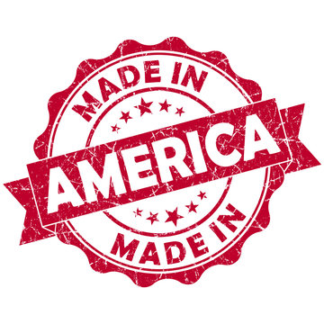 made in america stamp