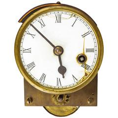 Vintage English gas calorimeter isolated on white