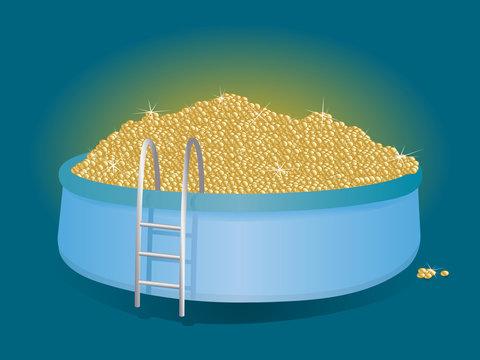 pool of money