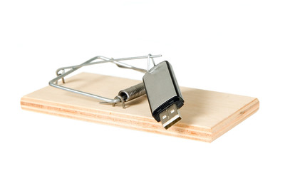 A mouse trap with portable driver